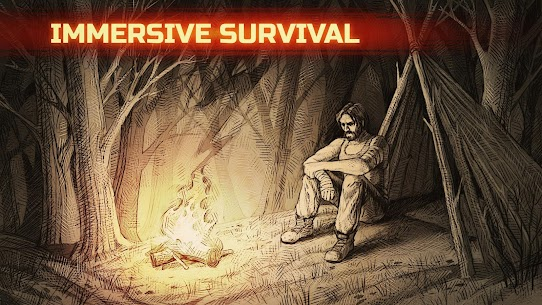 Day R Survival Premium Mod Apk 1.665 (No Ads + 1000 Caps) 1