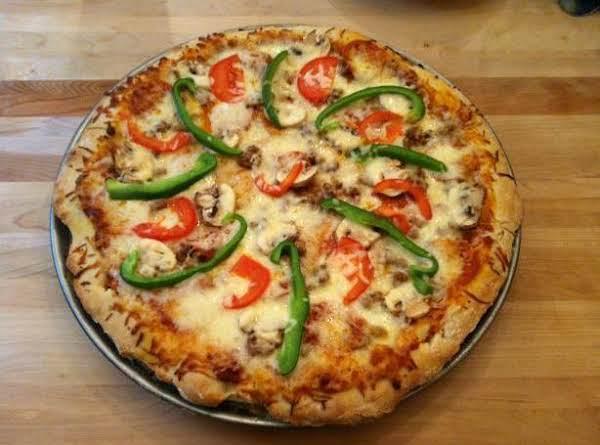 Pizza Hut Style Pizza Dough (bread Machine) Recipe