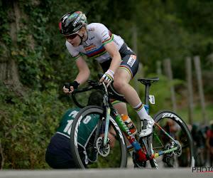 Wereldkampioene Van der Breggen kan terugblikken op fraaie solo, mooie ereplaats voor De Vuyst in Plouay