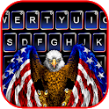 American Eagle Flag Keyboard Theme icon