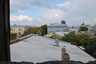 Photo: выгляд з акенца на дах