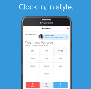 ClocksApp Kiosk | Clockins- screenshot thumbnail