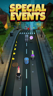 Overspin: Night Run – 3D double runner 3