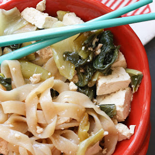 Bok Choy Miso Noodle Soup.