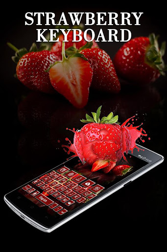 Strawberry Keyboard Theme Apk Download 3