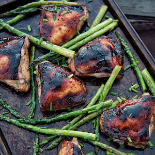 Asparagus Chicken Thighs Recipes.