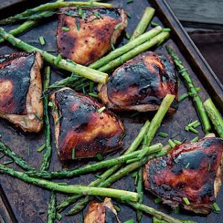 Asparagus Chicken Thighs Recipes.