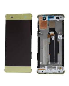 Xperia XA Display Original Gold Lime