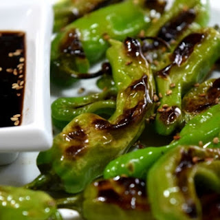5 Minute Blistered Shishito Peppers.