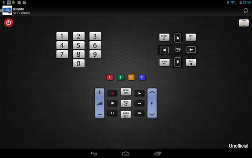 Remoto para televisor Samsung screenshot 5