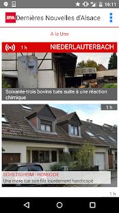 Dernières Nouvelles d'Alsace - náhled