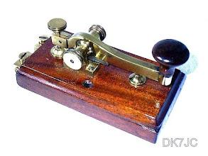"""Photo: Telegraphentaste Ne.5901  Kapsch&Söhne Wien  1890  """"OE"""" #040"""