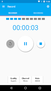 Audio Recorder and Editor Screenshot