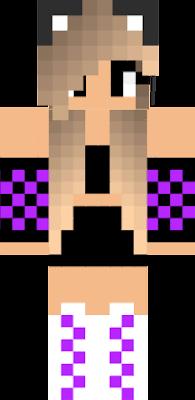 Chica Nova Skin - Skins para minecraft pe mujeres