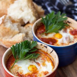 Spanish Baked Eggs.