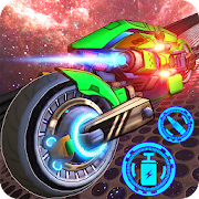 Hra Space bike galaxy race