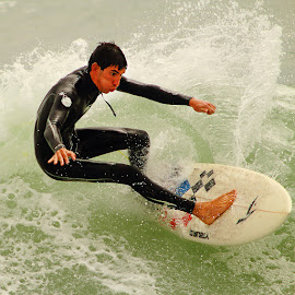 Il souffle by Gérard CHATENET - Sports & Fitness Surfing