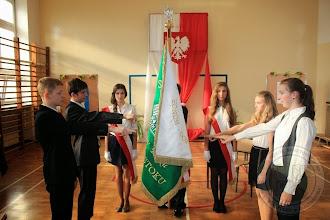 Photo: DEN 2013 - ślubowanie klas I gimnazjum