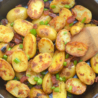 Skillet Potatoes and Bacon.