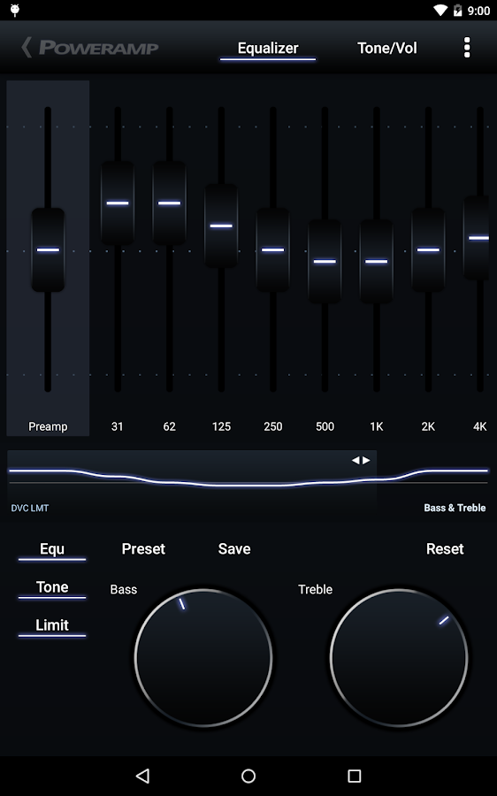 Poweramp – Screenshot