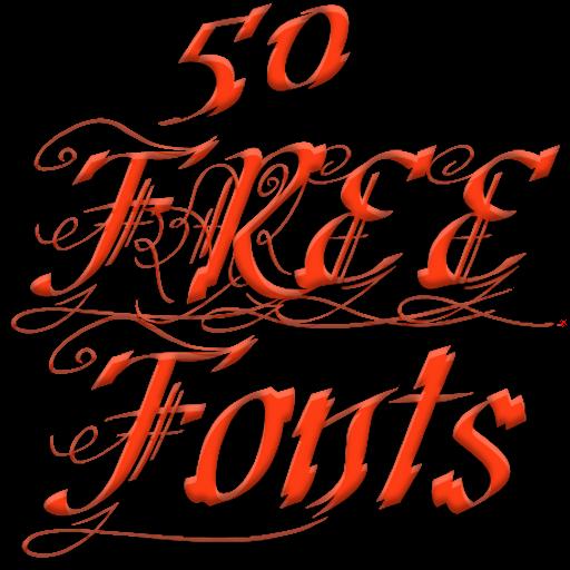 Fonts for FlipFont 50 11