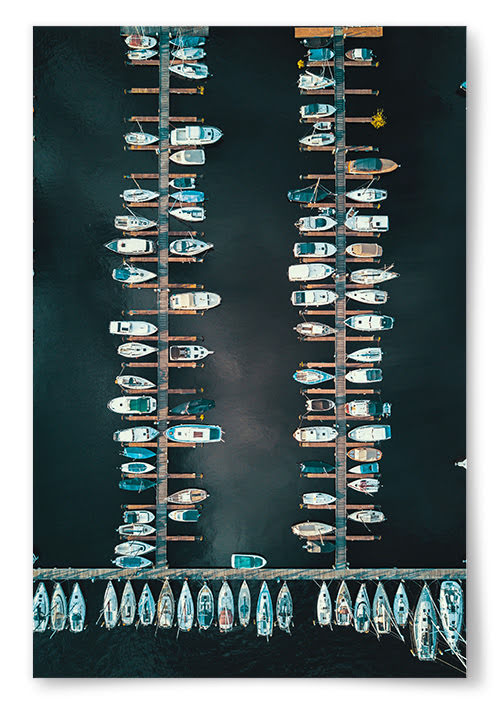 Poster Båthamn