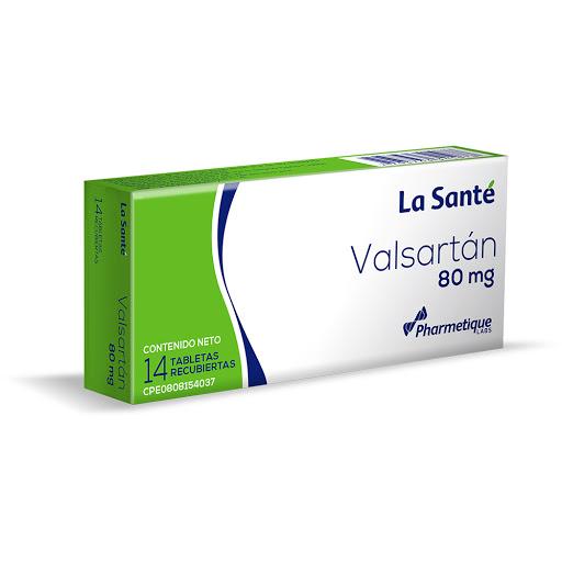 Valsartan Elter 80 mg x 14 Tabletas