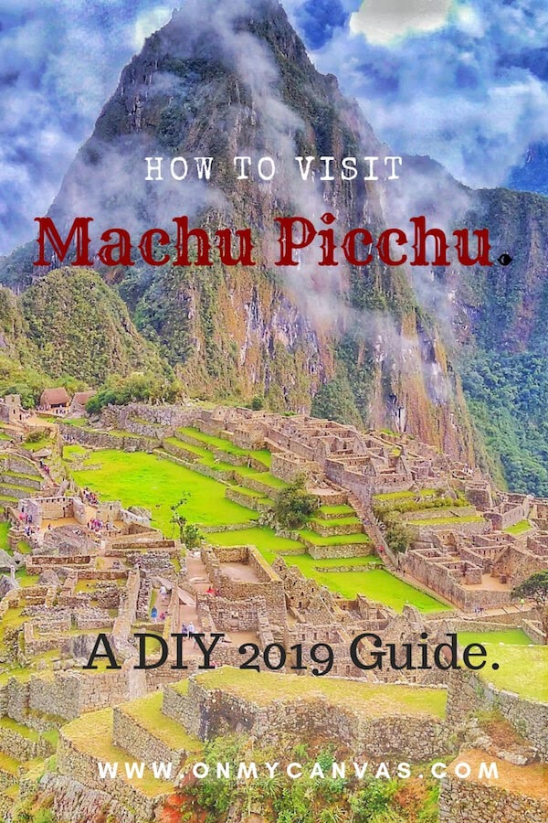 pin image for the article how to visit machu picchu on your own in 2019