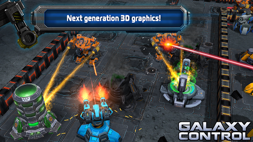Galaxy Control: 3D strategy  screenshots 11
