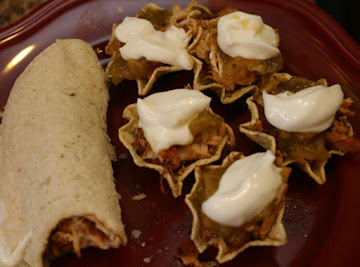 Smoky Chicken Tacos/scoops Recipe