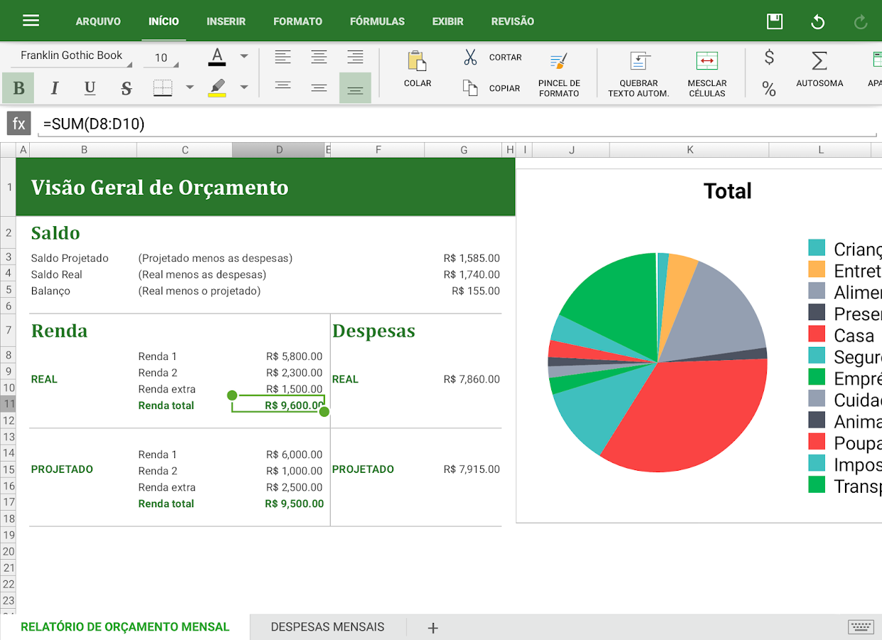 OfficeSuite Pro + PDF (Trial): captura de tela