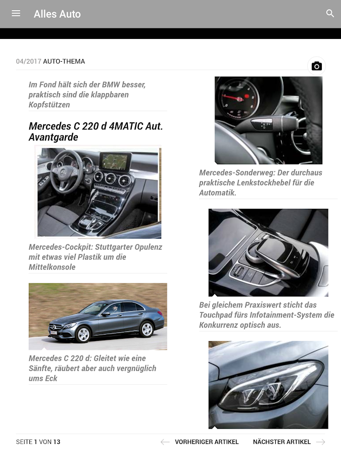 Alles Auto E-Paper- screenshot