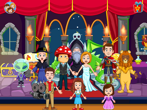My Town : Cinema. Fun Movistar Kids Movie Night  screenshots 12