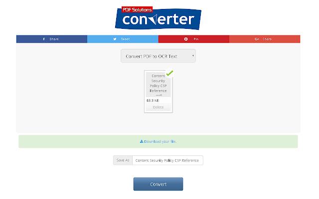 PDF to OCR Text Converter