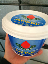 Photo: Vegetable shortening made from organic and sustainable palm oil