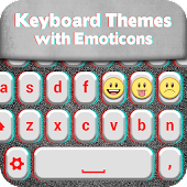 Keyboard Themes with Emoticons