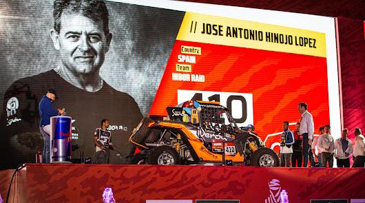 Excelente comienzo de Hinojo en el Dakar, tercero en la 1ª etapa