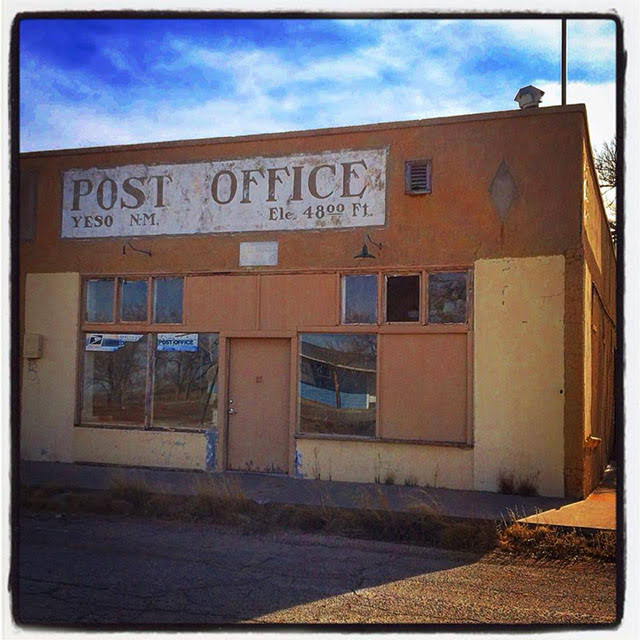 Old post office, Yeso, NM