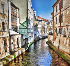 "Photo: ""Little Venice"" - Prague - February 2008"