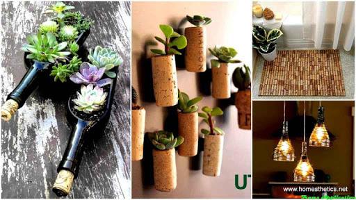 DIYボトル工芸デザインのアイデア