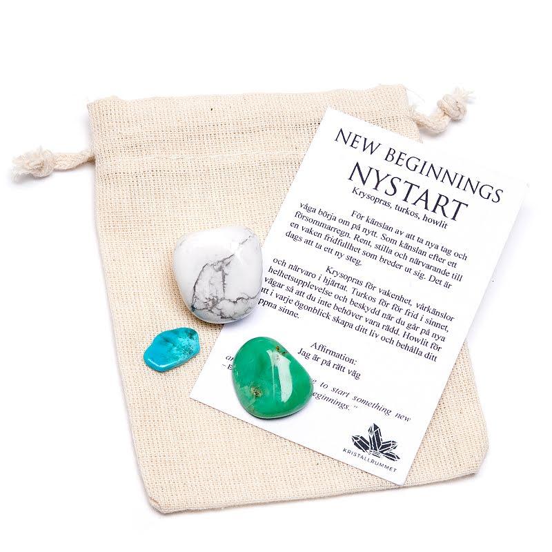 Nystart/New beginnings, presentpåse