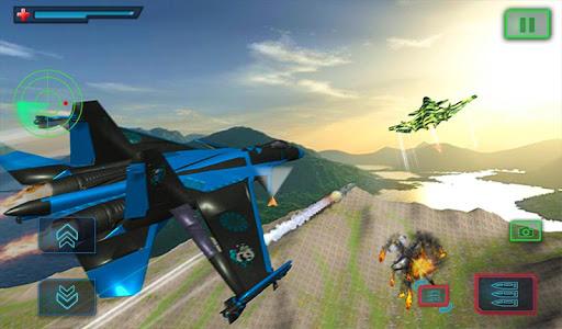 US Air Force Military Pilot Sky Battle 3D filehippodl screenshot 13