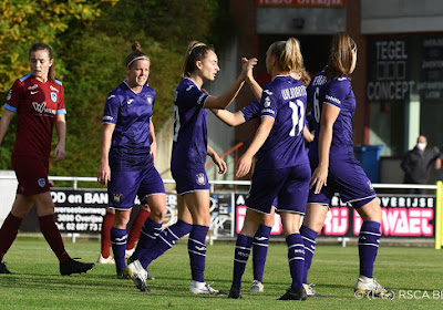 📷 🎥 De beelden van de 10-0(!) van RSC Anderlecht tegen KRC Genk Ladies