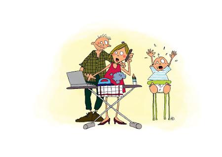 Een job combineren als mama en papa: 3 praktische tips van een ervaringsdeskundige