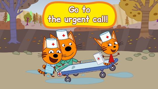 Kid-E-Cats: Hospital for animals. Injections MOD (Paid Content) 4