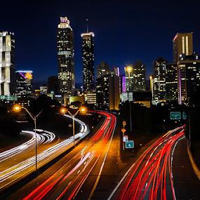 by Adam Snyder - City,  Street & Park  Night (  )