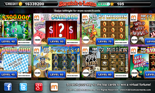 Scratch a Lotto Scratchcard Lottery Cash FREE- screenshot thumbnail
