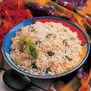 Orange Rice Pilaf.