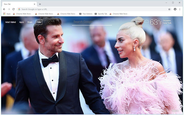 A Star Is Born HD Wallpapers New Tab Themes