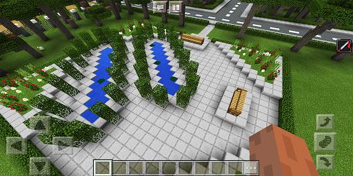 School and Neighborhood. Map for MCPE 20b.0 screenshots 4
